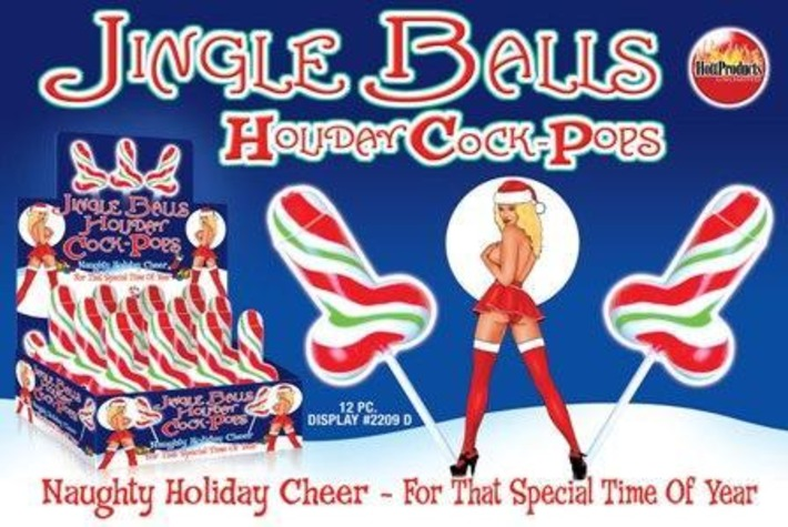 Jingle Balls Holiday Cock Pops | Kitsch | Scoop.it