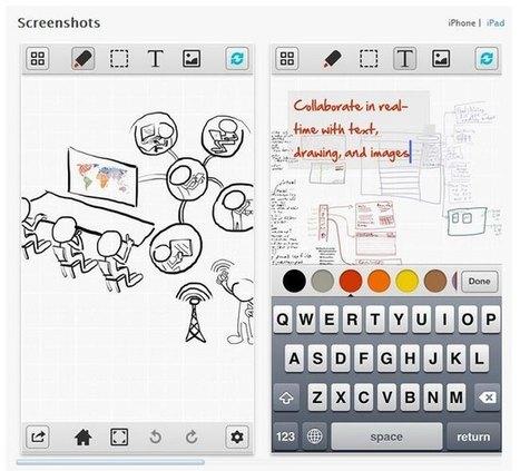 SyncSpace: Un pizarrón donde dibujar e interactuar con muchos colaboradores   Online Learning: More Than Just a MOOC #SPANISH   Scoop.it