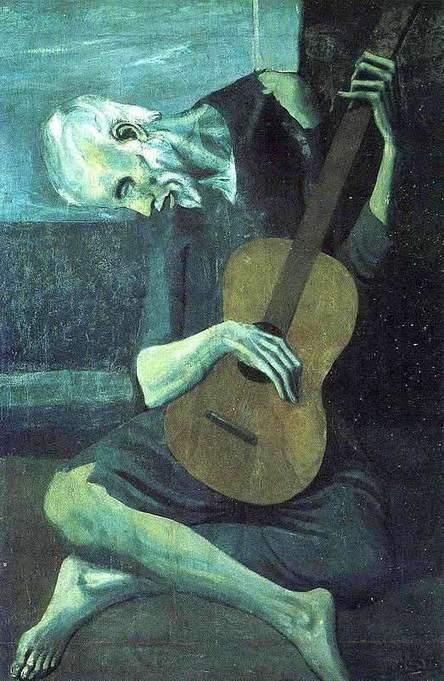 Analyse du vieux guitariste aveugle de Picasso ...