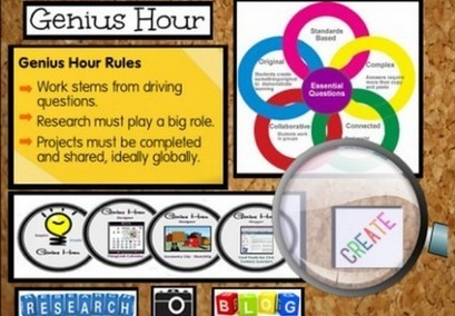 Embrace Change in the New Year with Genius Hour - Getting Smart by Susan Oxnevad - #geniushour, badges, edchat, edreform, elearning, eportfolios, Innovation   Cool Tools for Common Core Connections   Scoop.it