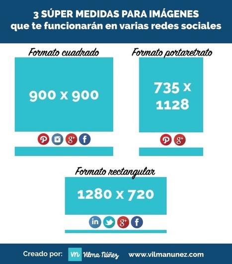 3 medidas de imágenes que sirven en todas las redes sociales | SocialMente ProActivos (y confusos) | Scoop.it