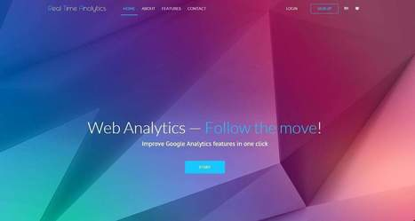 Real Time Analytics, migliora Google Analytics in un click | Facebook Daily | Scoop.it