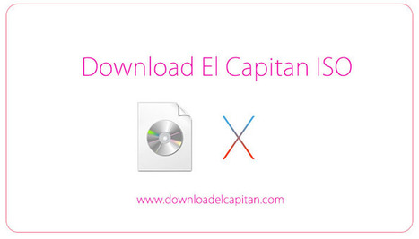 Download El Capitan ISO - Mac OS X | Software |