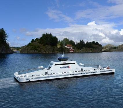 First car ferry powered by electric drive system | Sustain Our Earth | Scoop.it
