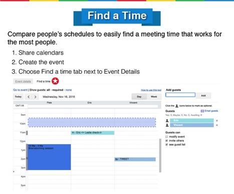 15 Google Calendar Hacks for Teachers | Serious Play | Scoop.it