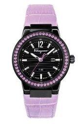 Sensational New Blogpost (Salvatore Ferragamo Women s F53SBQ68P09 SB52 F-80  Pink Sapphires Date Leather Watch) Has Been Published on My Swiss Watch  Brands b0275b186c