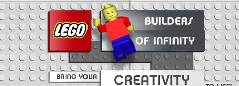 Banners kunnen ook leuk zijn (en ontzettend goed werken). Zoals deze van LEGO.   Kinderen en interactieve media   Scoop.it
