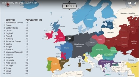 Animated Map: 2,400 Years of European History |