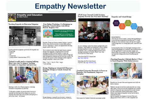 July: Empathy Movement NewsLetter: Co-Designing Empathic School Cultures Together | Compassion | Scoop.it