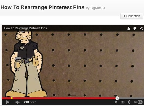 How To Rearrange Pinterest Pins | Pinterest for Business | Scoop.it