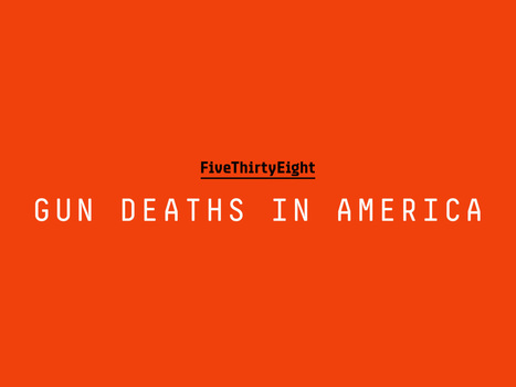Gun Deaths In America | Criminology and Economic Theory | Scoop.it