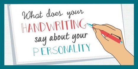 Infographic: What Does Your Handwriting Say About Your Personality? | The Digital Reader | book publishing | Scoop.it