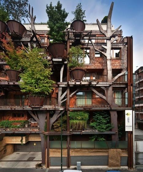 C'est l'histoire d'une «maison-forêt» en pleine ville… | Architecture pour tous | Scoop.it