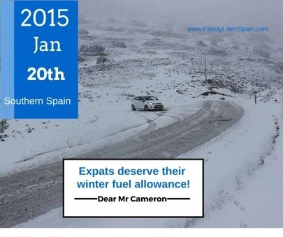 Winter Fuel Payments 2015: No Help For Expats in Spain! | Family Life In Spain | Scoop.it