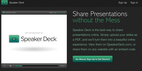 Speaker Deck - Share Presentations without the Mess | Teaching & Learning Resources | Scoop.it
