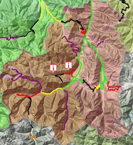 Circulation routière difficile en Aure & Louron le 16 janvier (11:57) - InfoRoute65 | Vallée d'Aure - Pyrénées | Scoop.it