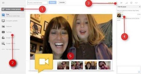 Cómo crear, organizar y participar de un hangout, paso a paso, desde el nuevo Google+ | Las TIC y la Educación | Scoop.it