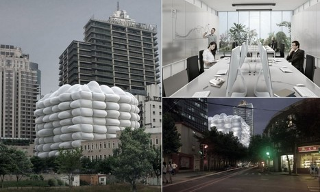 The inflatable, antibacterial BUILDING | Healthcare Technology | Scoop.it