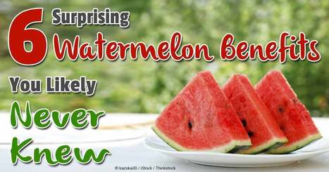 6 Watermelon Facts That Might Surprise You | Health and Nutrition | Scoop.it
