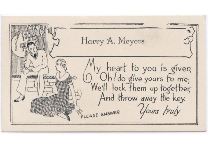 Antique Acquaintance Calling Cards | Antiques & Vintage Collectibles | Scoop.it