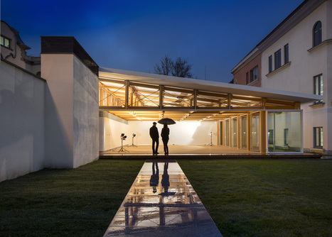 IE Paper Pavilion by Shigeru Ban | sustainable architecture | Scoop.it