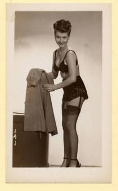 Vintage Photo -Semi Nude Girl Shows Lingerie 1599 | Sex History | Scoop.it