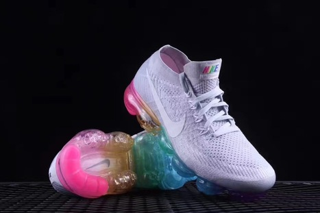 more photos e00c9 39c7f Nike Air Vapormax Flyknit Betrue Multicolor White -  66.99   nike and adidas  sports shoes online