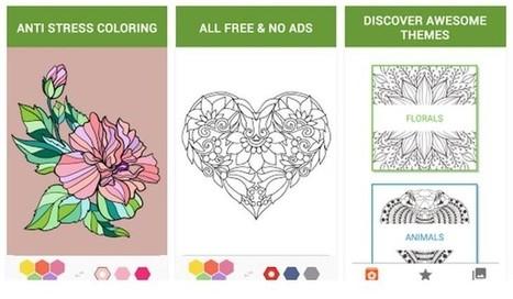 4 apps Android de coloreado de dibujos para adultos | Educacion, ecologia y TIC | Scoop.it
