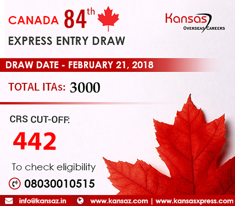 Canada express entry latest draw 2018 rounds canada express entry latest draw 2018 rounds of invitations kansas overseas careers stopboris Images