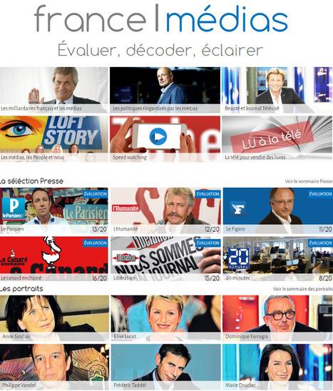 Lancement de France Médias, premier outil de notation et d'évaluation des médias français | DocPresseESJ | Scoop.it