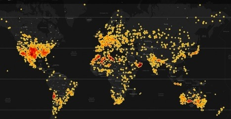 Here's Every Meteorite Fall on Earth in a Single Interactive Visualization | visual data | Scoop.it
