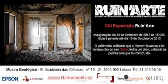 XXI Exposição Ruin'Arte   Creative Portugal   Scoop.it