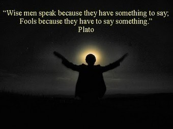 Wise men and Fools | Quote for Thought | Scoop.it