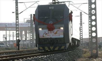 China's freight train to Central Asia makes maiden voyage - Global Times | Global Logistics Trends and News | Scoop.it