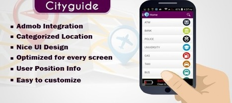 Buy City Guide (Map App Template) App Templates For Android | Chupamobile.com | android source code | Scoop.it