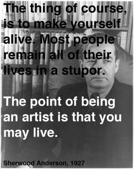 Sherwood Anderson on Art and Life: A Letter of Advice to His Teenage Son, 1927 | Learning, Teaching & Leading Today | Scoop.it