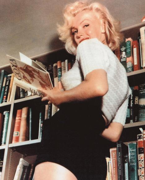 Photo of the Day: Marilyn Monroe's Bookshelf | Read Ye, Read Ye | Scoop.it
