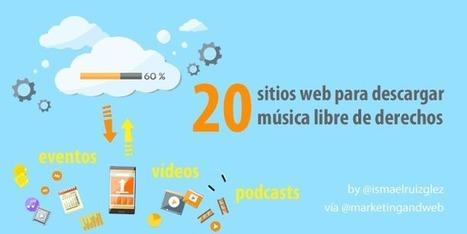 20 páginas web para descargar música libre de derechos para tus vídeos | Web Hosting, Linux y otras Hierbas... | Scoop.it