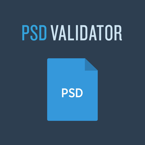 Find out how good your PSD file is structured | Innovative Web! | Scoop.it