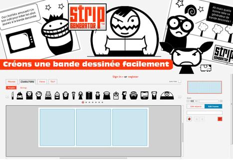 ::: Stripgenerator.com - Create a new strip | CRÉER - DESSINER EN LIGNE | Scoop.it