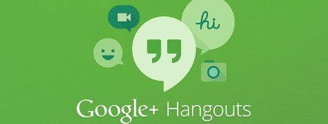 The missing manual: Google Hangouts | 3D Virtual-Real Worlds: Ed Tech | Scoop.it