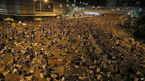 Protesters defiant amid Hong Kong stand-off | NGOs in Human Rights, Peace and Development | Scoop.it