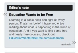 Education Wants to be Free: Creating Your Online Newspaper Part IV | All Things Paper.li | Scoop.it