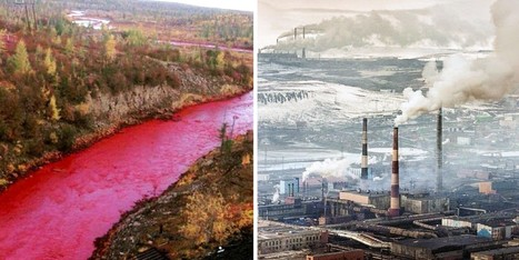 "Russia's Red River Another Sad Chapter for One of the Most Polluted Cities on Earth (""human wreck!"") 