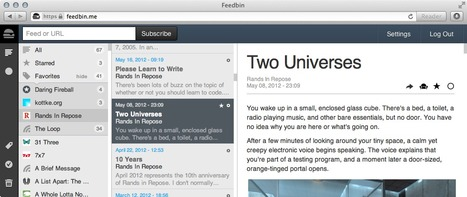 Embedded videos from YouTube and Vimeo will now show up in Feedbin | RSS Circus : veille stratégique, intelligence économique, curation, publication, Web 2.0 | Scoop.it