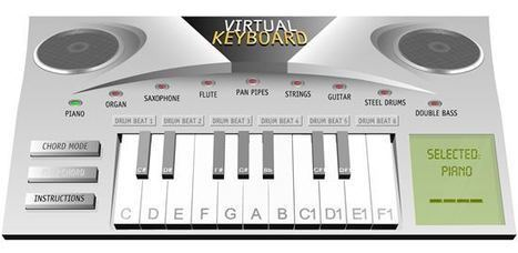 Ressources pour jouer du piano en ligne | Time to Learn | Scoop.it