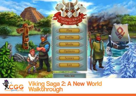 Viking Saga: New World Walkthrough: From CasualGameGuides.com | Casual Game Walkthroughs | Scoop.it