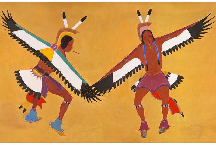 New online exhibition explores native themes in New Deal-era murals | Art Daily | Kiosque du monde : Amériques | Scoop.it