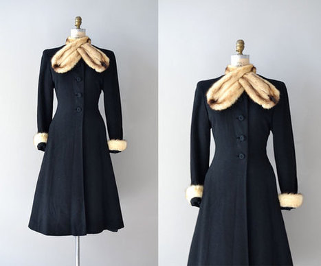vintage 1930s coat | Antiques & Vintage Collectibles | Scoop.it