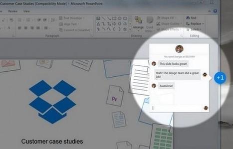 Dropbox presenta herramienta de colaboración para Microsoft Office | notícies TIC | Scoop.it